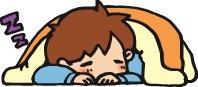 眠る哺育士さん