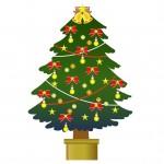 華やかなクリスマスツリー
