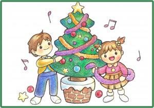 クリスマスイラスト3