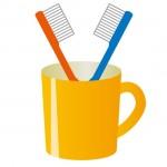 歯ブラシのイラスト