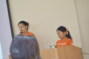 甲田代表と愛珠ちゃん