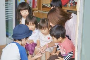 アンジェリカ保育園の子どもたち