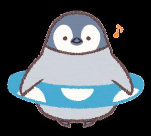 ペンギンのプールカード