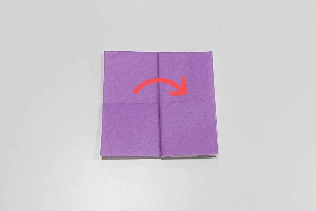 折り方4/あじさい