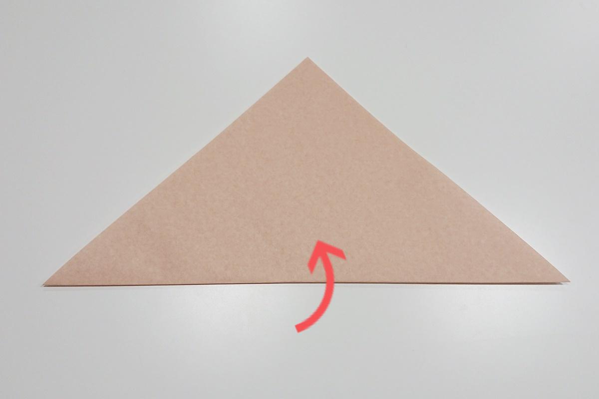 折り方1/かたつむり