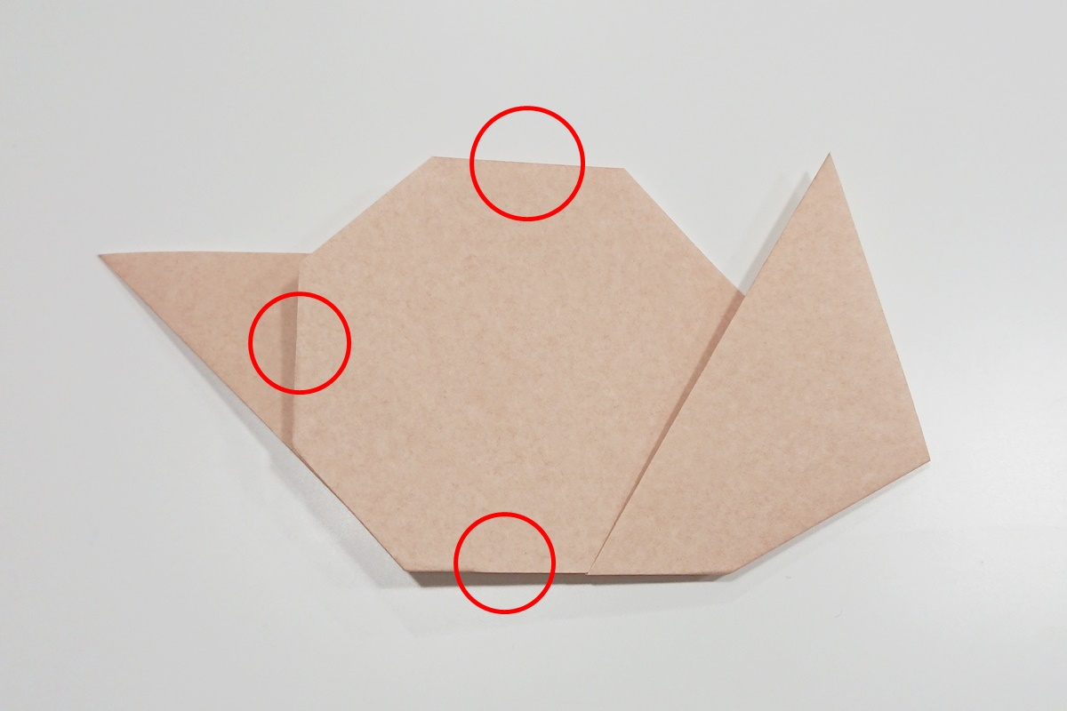 折り方5/かたつむり