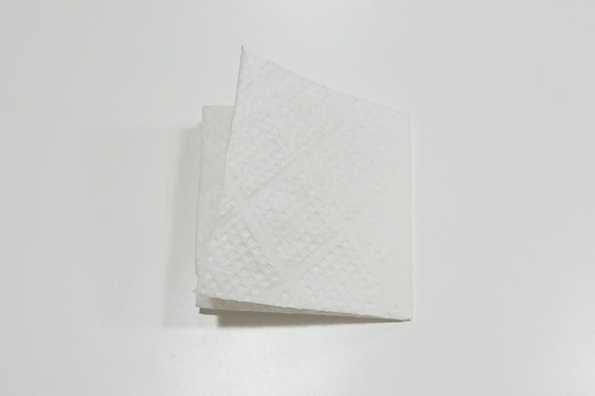 製作過程2/染め紙のアジサイ