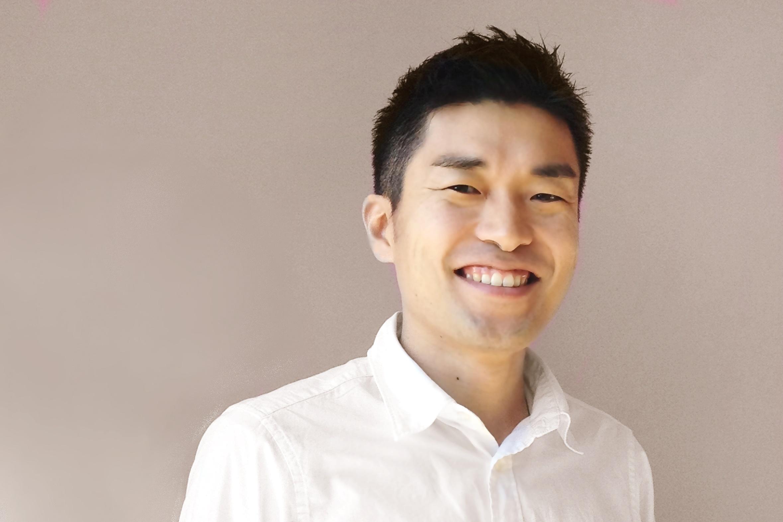 笑顔の松本代表