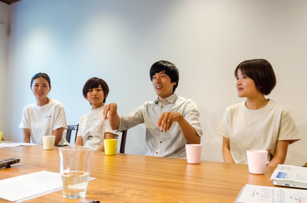 子どもも大人も対等と語ってくれた山田さん